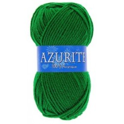 Azurite wool ball - green