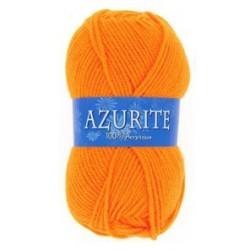 Azurite wool ball - orange