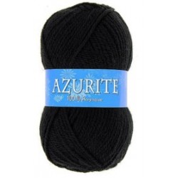 Azurite wool ball - black