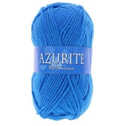 Azurite wool ball - dark blue