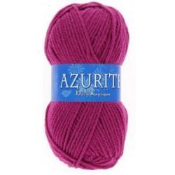 Azurite wool ball - dark pink