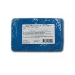 Pâte à sucre sans gluten - azulao / bleu foncé - 1kg - Azucren Elite