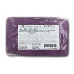 glutenfree sugar paste - lilac - 1kg - Azucren Elite