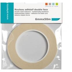 Ruban adhésif double-face - 6 mm x 50 m - Artemio