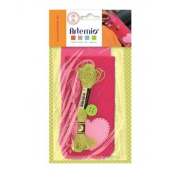 Girl case felt kit - Artemio