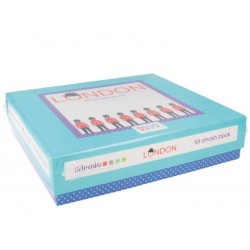Kit smash book Londres - 20 x 20 cm - Artemio
