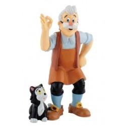 Figurine - Geppetto - Les Aventures de Pinocchio