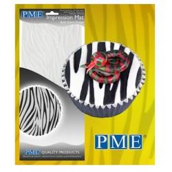 tapis pour empreinte motif zèbre - PME
