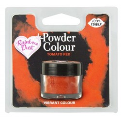"""colorant en poudre """"Powder Colour"""" tomato red / rouge tomate - 3g - RD"""