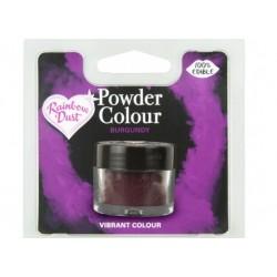 """colorant en poudre """"Powder Colour"""" burgundy/bourgogne - 3g - RD"""