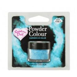 """colorant en poudre """"Powder Colour"""" caribbean blue/bleu caraïbes - 3g - RD"""