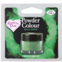 "colorant en poudre ""Powder Colour"" holly green/vert houx - 3g - RD"