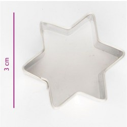 Emporte-pièce étoile - 3 cm