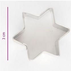 Star cookie cutter - 3 cm