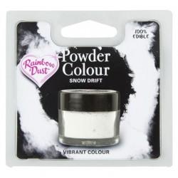 """colorant en poudre """"Powder Colour"""" snow drift / dérive de neige - 3g - RD"""