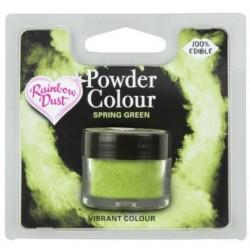 "colorant en poudre ""Powder Colour"" spring green / vert printanier - 3g - RD"