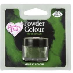 """colorant en poudre """"Powder Colour"""" moss green / vert mousse - 3g - RD"""