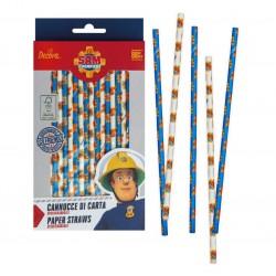 """Fireman Sam"" straws - Decora"