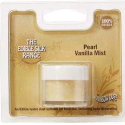 Edible Silk - pearl vanilla mist / brume de vanille perle - 3g