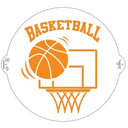"Stencil ""basketball"" - Decora"