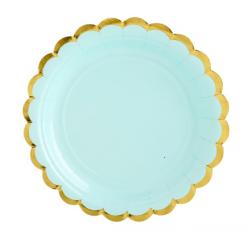 6 plates - Mint - PartyDeco