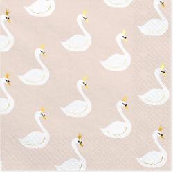 20 napkins - lovely swan -...