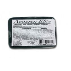 Pâte à sucre sans gluten - vert houx - 250g - Azucren Elite