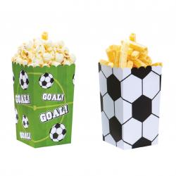Boîtes à popcorn football -...