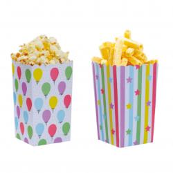 Boîtes à popcorn ballons et...