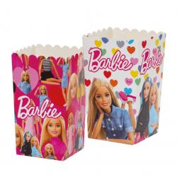 Boîtes à popcorn Barbie -...