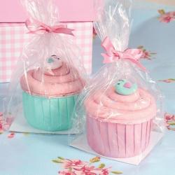 Sac cadeau cupcake avec...