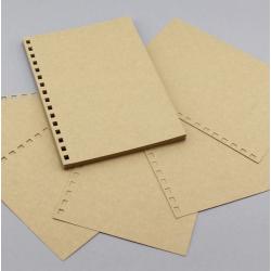 Papier cartonné perforé A5...