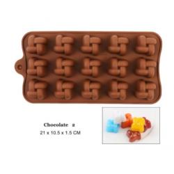 Moule en silicone chocolat - 2
