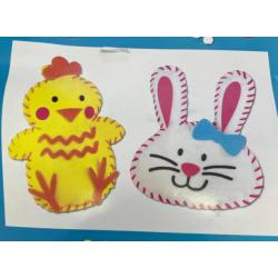 2 kit de couture de Pâques...