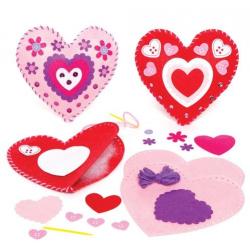 2 kit de couture - coeur