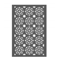 stencil  Fond flocons - 10 x15 cm - Artemio
