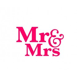 Mr & Mrs / M & Mme
