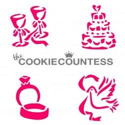 Whimsical wedding items / 4 éléments sur le thème du mariage
