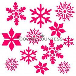 Snowflakes 2 / Flocons 2