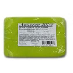 glutenfrei Zuckerpaste - fluoreszentes grün- 1kg - Azucren Elite