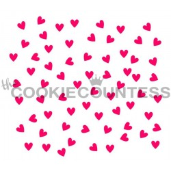Scattered hearts / Coeurs dispersés
