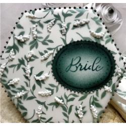 set stencil Bride / Mariée...