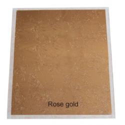 Set 100 feuilles rose gold...