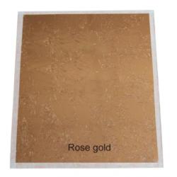 Set 100 hojas rose gold /...