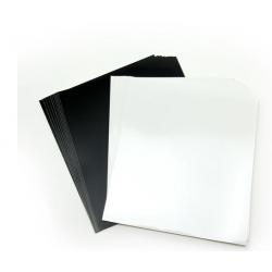 Bande carrés de vinyle...