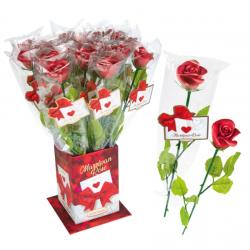 rose rouge Elégance