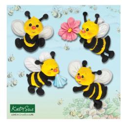 moule en silicone - abeille...