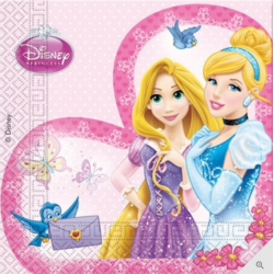 20 serviettes - Princesse
