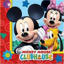 20 napkins - Mickey Mouse Club