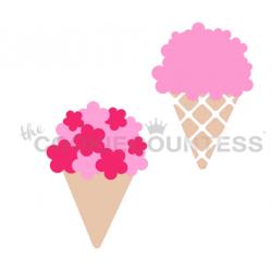 stencil bouquet or ice...
